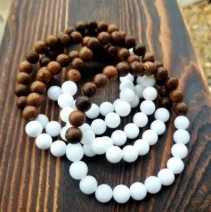 Other - Unisex Sandalwood Meditation Bracelet